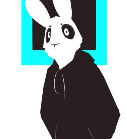 Rabbits Don't Sleep Sticker