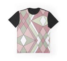 Seamless abstract pattern retro colors Graphic T-Shirt