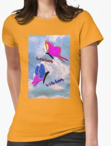 Girl Butterfly - Boy Butterfly Womens Fitted T-Shirt