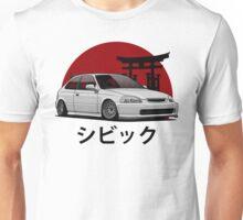 Civic EK (white) Unisex T-Shirt
