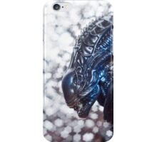 Alien from sci-fi movie iPhone Case/Skin
