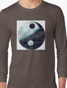 Sea Yin Yang Long Sleeve T-Shirt