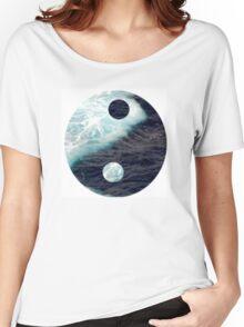 Sea Yin Yang Women's Relaxed Fit T-Shirt