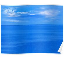 The Blue Horizon Poster