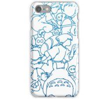 Ghibli Blue Design iPhone Case/Skin