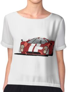 Lola T70 MKIII - Red Chiffon Top