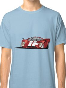 Lola T70 MKIII - Red Classic T-Shirt