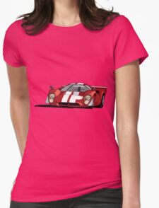 Lola T70 MKIII - Red Womens Fitted T-Shirt