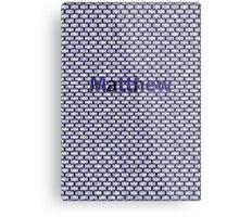 Matthew Metal Print