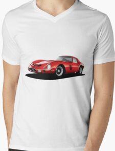 Ferrari 250 GTO Mens V-Neck T-Shirt