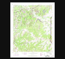 USGS TOPO Map Alabama AL Isbell 304271 1945 24000 Unisex T-Shirt