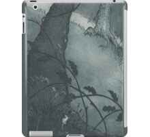 Mouse in undergrowth iPad Case/Skin