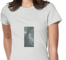 Mouse in undergrowth Womens Fitted T-Shirt