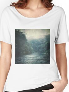 Valley and River Women's Relaxed Fit T-Shirt