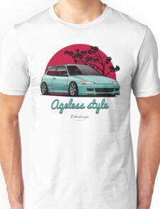 Ageless Style Civic EG (aquamarine) Unisex T-Shirt