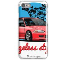 Ageless Style Civic EG (red) iPhone Case/Skin