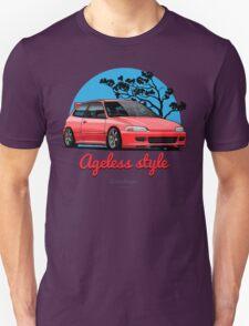 Ageless Style Civic EG (red) Unisex T-Shirt