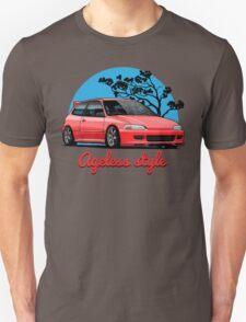 Ageless Style Civic EG (red) T-Shirt