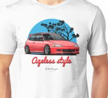 Ageless Style Civic EG (red) Unisex T-Shirt