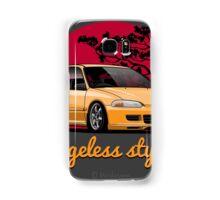Ageless Style Civic EG (yellow) Samsung Galaxy Case/Skin