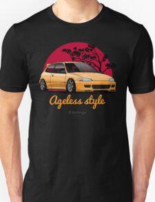 Ageless Style Civic EG (yellow) Unisex T-Shirt
