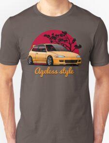 Ageless Style Civic EG (yellow) T-Shirt