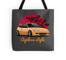 Ageless Style Civic EG (yellow) Tote Bag