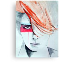 Bowie Gender Swap Canvas Print