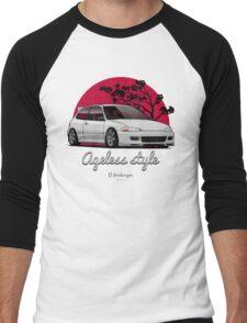 Ageless Style Civic EG (white or grey) Men's Baseball ¾ T-Shirt