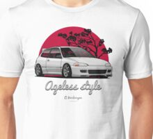 Ageless Style Civic EG (white or grey) Unisex T-Shirt