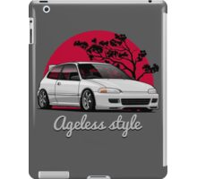 Ageless Style Civic EG (white or grey) iPad Case/Skin