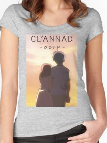 Nagisa Love Clannad After Story Women's Fitted Scoop T-Shirt