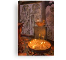 Candles - St Pauls Cathedral Canvas Print