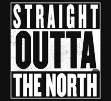STRAIGHT OUTTA THE NORTH Kids Tee