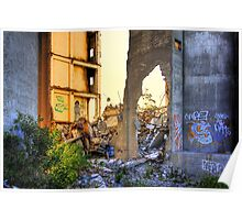 Cement works 2 - Geelong Poster