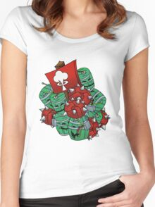 Techie's Boom Women's Fitted Scoop T-Shirt
