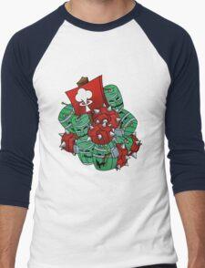 Techie's Boom Men's Baseball ¾ T-Shirt