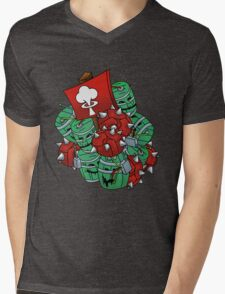 Techie's Boom Mens V-Neck T-Shirt