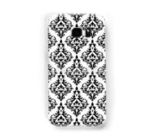 Black and White Samsung Galaxy Case/Skin