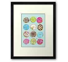 Sweet donuts Framed Print