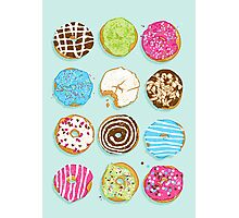 Sweet donuts Photographic Print