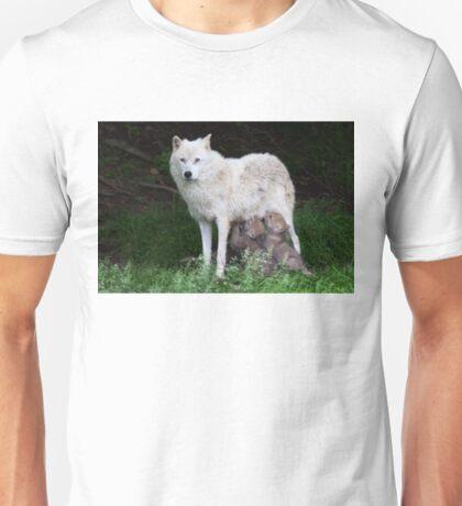 Remus and Romulus - Arctic Wolf Unisex T-Shirt