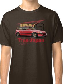 True Japan Civic EF (red) Classic T-Shirt