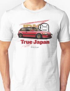 True Japan Civic EF (red) Unisex T-Shirt