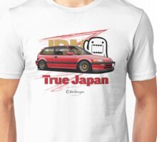 True Japan Civic EF (red) Unisex T-Shirt