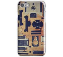 Camera Construction iPhone Case/Skin