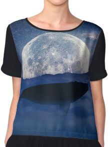 flying whale Chiffon Top