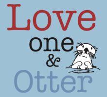 Love One & Otter Kids Tee
