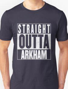 STRAIGHT OUTTA ARKHAM Unisex T-Shirt