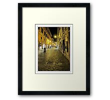 Away from the crowds Framed Print